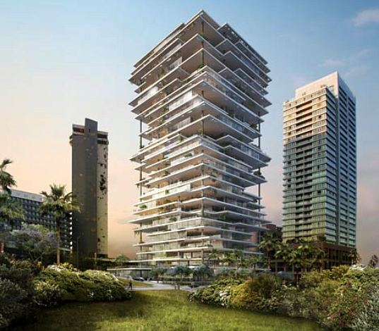Beirut Terraces Make Sustainable Vertical Villages for Lebanon City