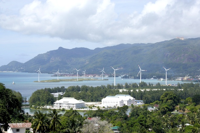 Port Victoria wind farm, Seychelles, Masdar, alternative energy, renewable energy, cleantech, Abu Dhabi Fund for Development