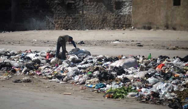 syria trash in aleppo