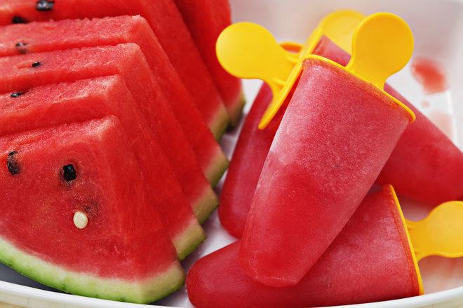 3 Frozen Watermelon Desserts