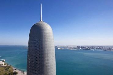 Burj Doha and Qatar's First Vertical Garden (Photos)