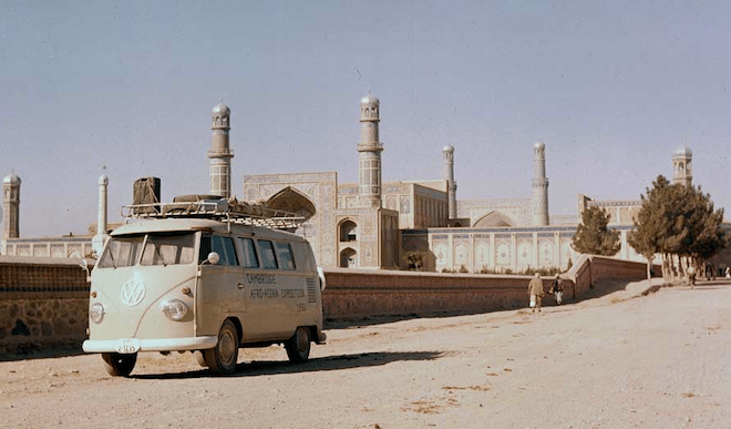 The Iconic VW Van in the Middle East