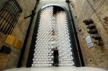 Najila El Zein's Beautiful Wind Portal is Made with 5,000 Paper Windmills