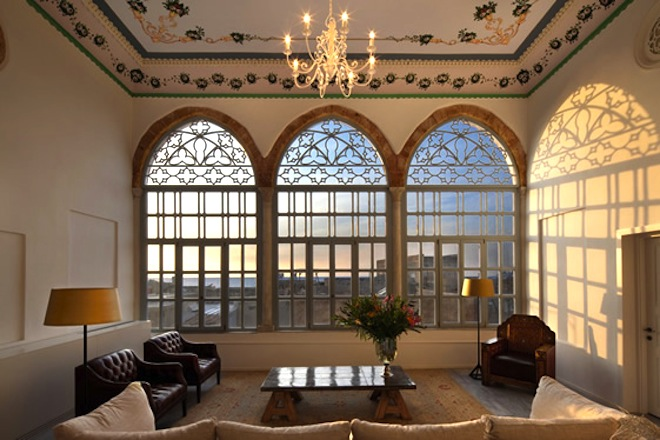 The Efendi Hotel, green renovation, Ottoman Palaces, Boutique Hotels Israel, Travel, Acre, Uri Jeremias