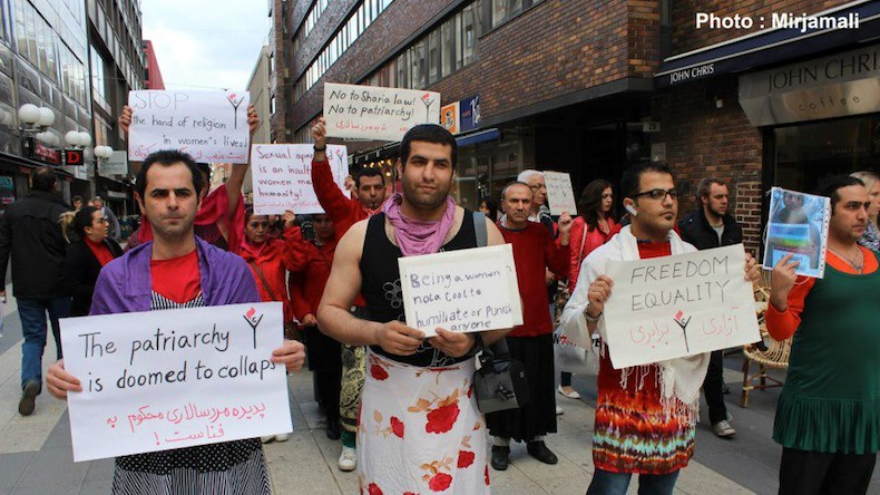 Kurdish Men Dress In Drag to Support Iranian Feminism