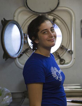 "Turkish Girl ""Pirate"" Jailed in Russia's Arctic Prison Over Oil"