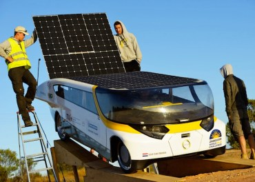 First Practical Sun-Powered Car Stella Wins World Solar Challenge 2013