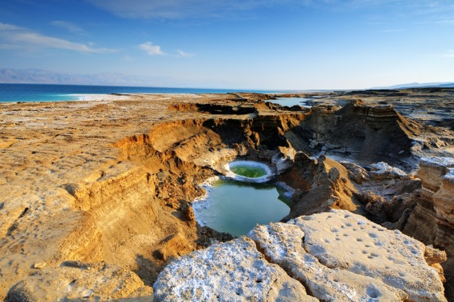 Dead Sea sinkhole Israel