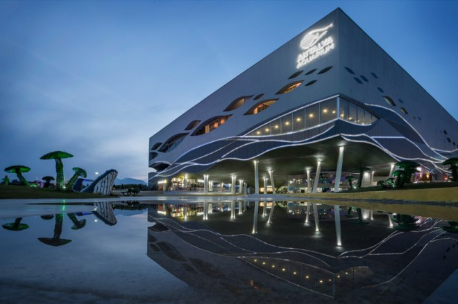 Antalya Aquarium, Bahadir Kul Architects, Turkey, Turkish Riviera, design, daylighting, Mediterranean Sea, scuba diving, marine life, Turkey, Ket Kolektif
