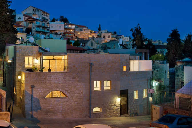 Restored Galilee home becomes sea of sunlight