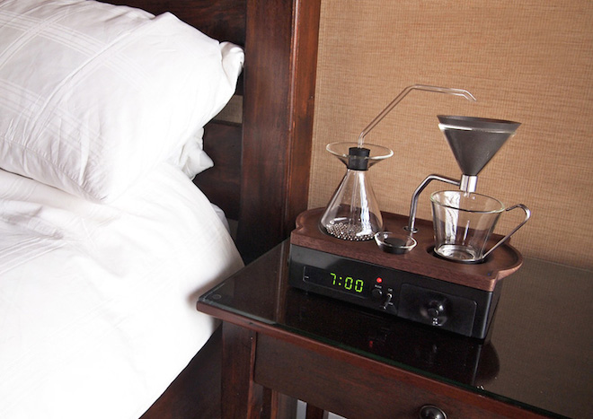 Barisieur – a hybrid alarm clock and brew machine for coffee addicts