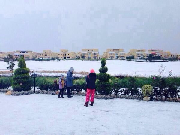 Cairo snow, Egypt snow, snow falls in Egypt for first time in 100 years, winter storm, Middle East