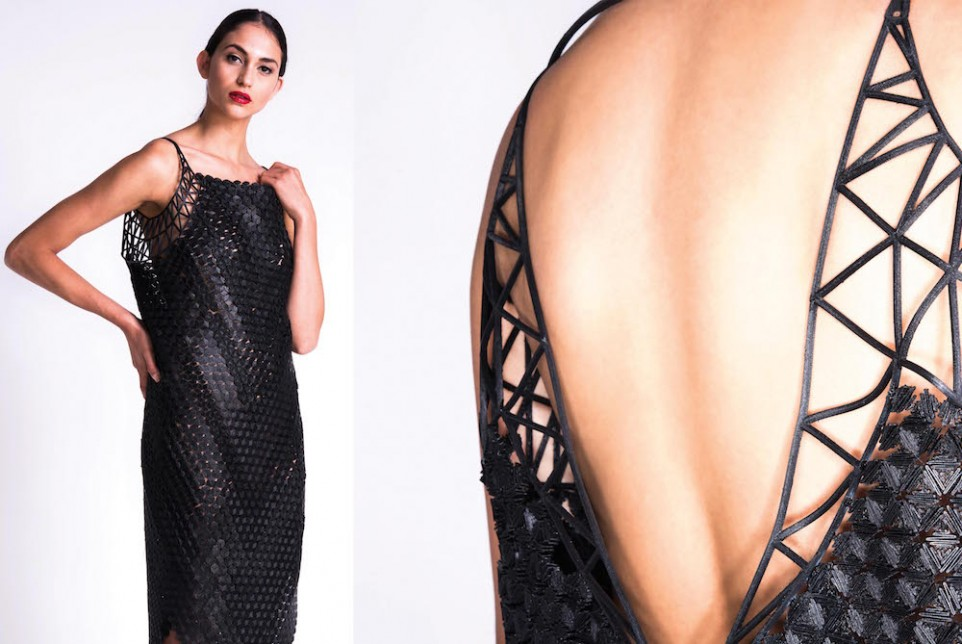 Israeli Fashion Designer Prints World's First 3D Couture