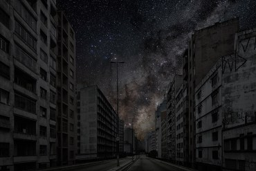 "Urban light pollution shines bright in ""Darkened Cities"""
