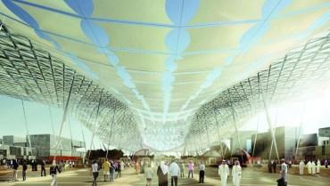 Flexible Solar Canopy to Cover Dubai's 2020 Expo Pavilions