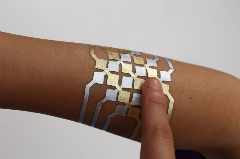 DuoSkin smart tattoos turn your skin into a touchpad