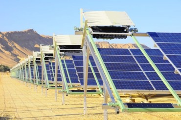 Eccoppia's waterless robots clean solar panel dust in Israel