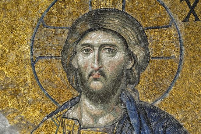 Hagia Sohia Christ mosaic