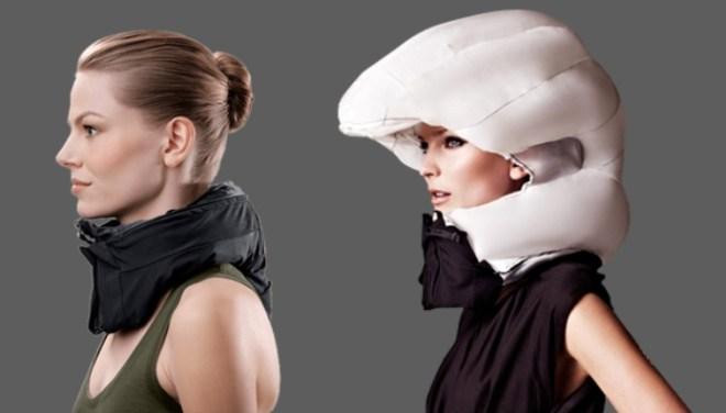 Hovedig Helmet air bag for bikers