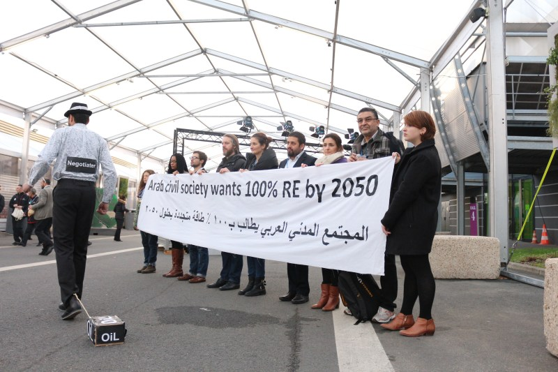 Arab civil society calls Arab nations to achieve 100% renewable energy