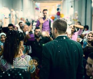Love Story: Jordanian newlyweds share their wedding with refugees