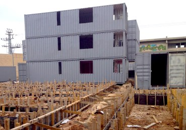 """A shipping container village to rescue """"shooting"""" city"""