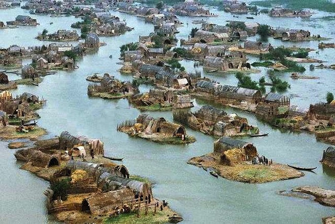 Mesopotamian Marshlands, UNESCO World Heritage Site, nature iraq, nature conservation in Ira, sustainable design, green design