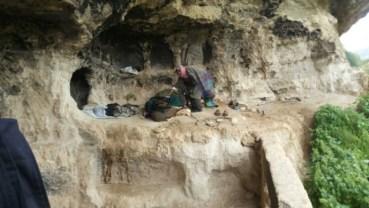 Caveman found living in Jordan mountains!