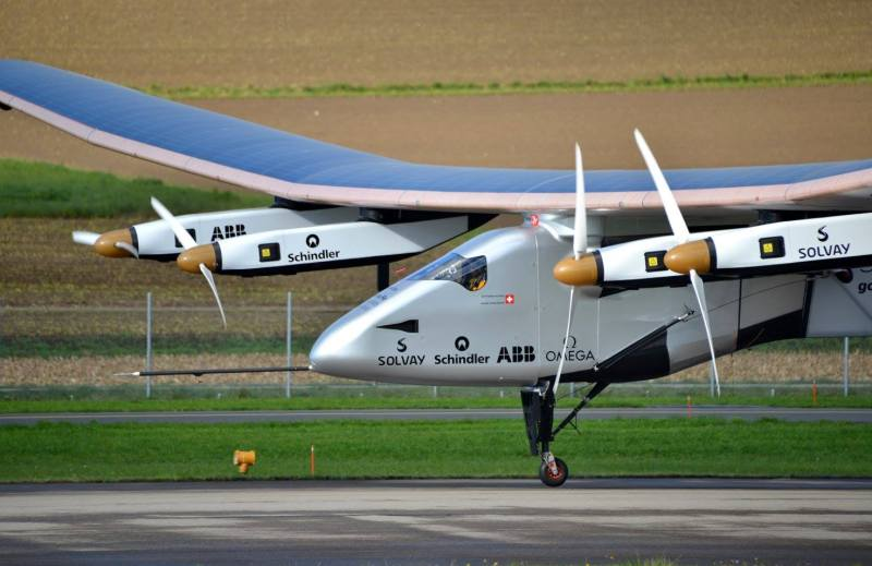 Solar powered plane (finally) completes round-the-world flight