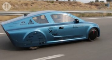Elektrik! Turkish EV car Project Yerel speeds through country some 350 miles on one charge