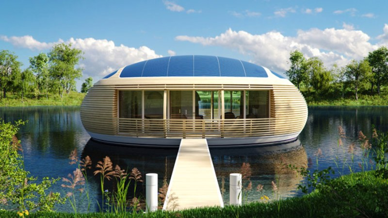 Surf rising sea levels in a WaterNest home?