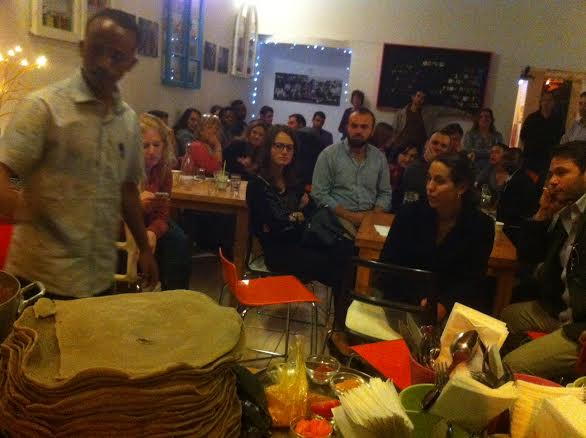 Greet, meet, and eat with African asylum seekers in Israel
