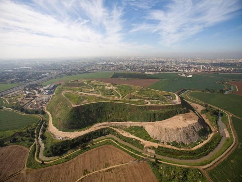Massive landfill dump transforming into central park
