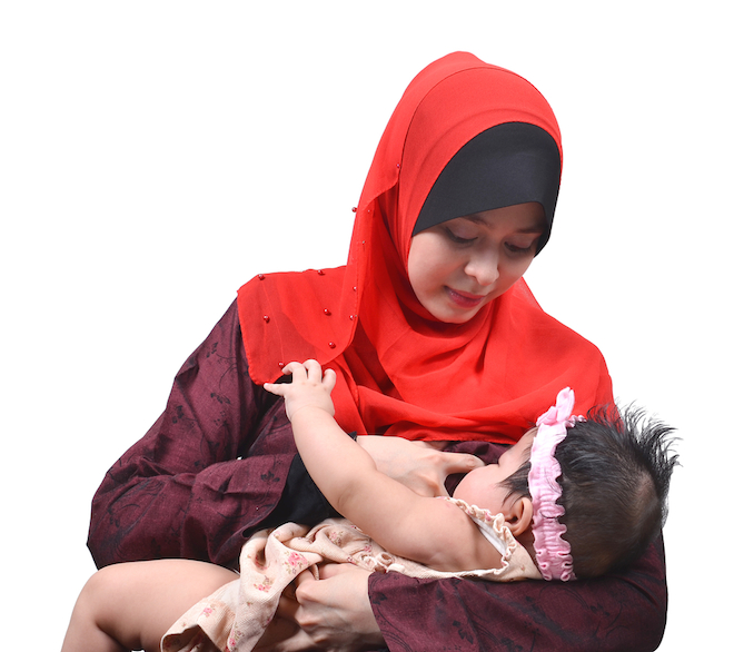 breastfeeding muslim islam woman