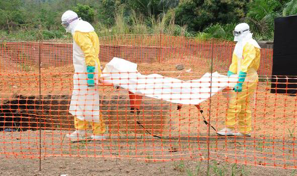 carrying out another ebola victim
