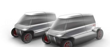 City Transformer electric folding car is a kit car for urban dreams [video]