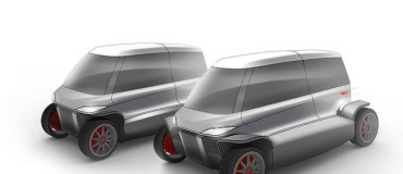 City Transformer electric folding car is a kit car for urban dreams [video]