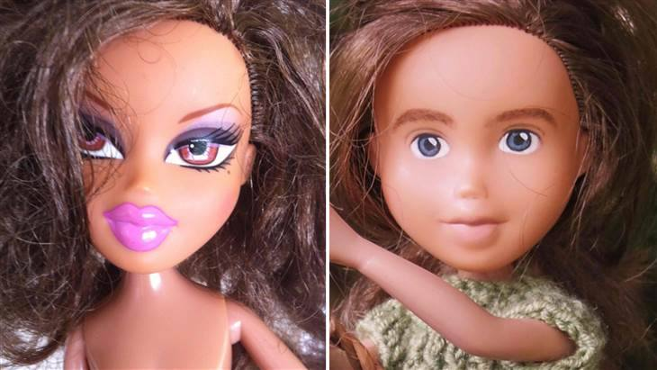Meet the innocent looking doll who's been around the block
