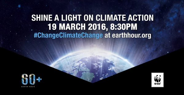 Shining a light on #EarthHour2016