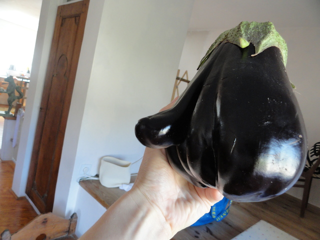 Erotic eggplant makes baba ghanoush more exciting [photos]
