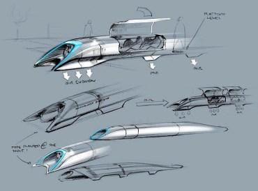 Hyperloop, Elon Musk dreams of a fifth mode of transportation [video]