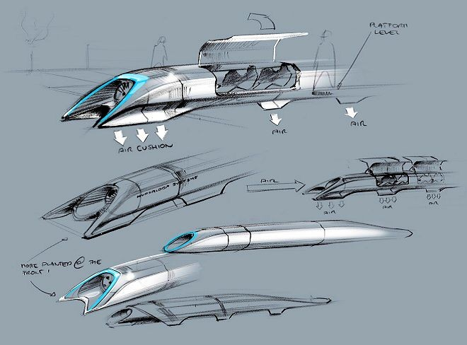 Hyperloop, Elon Musk dreams of a fifth mode of transportation [video]