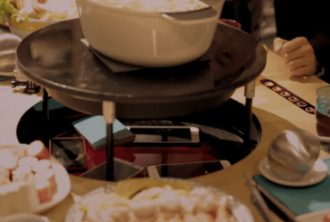 Brilliant IKEA dinner table outsmarts mealtime smartphone users!