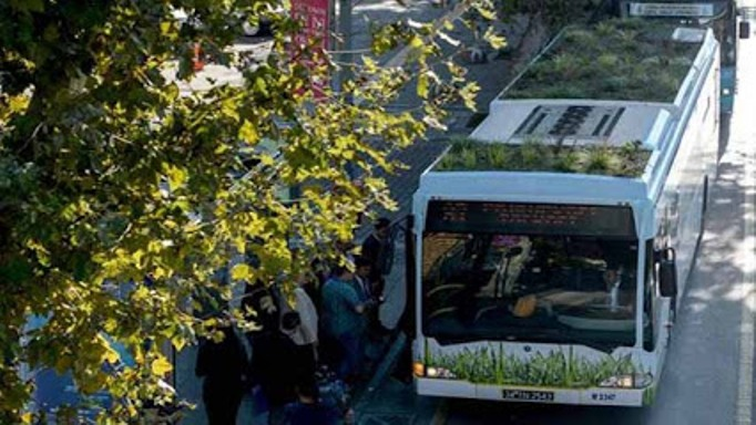 Botobus: Istanbul public transit goes botanical and organic!