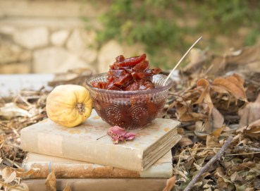 Lebanese Quince Jam, A Sweet Winter Recipe