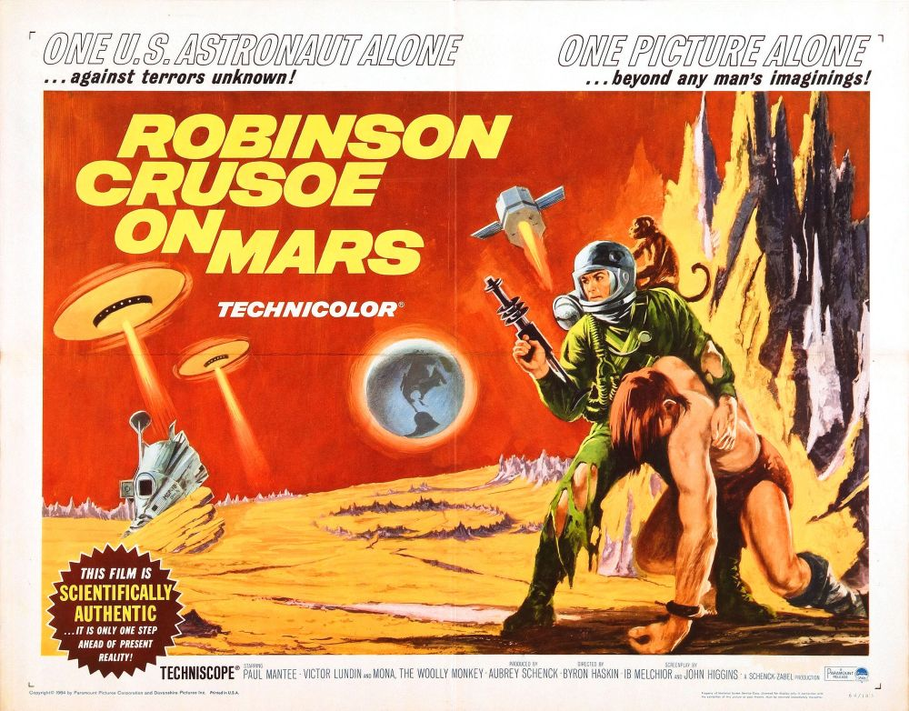 The Martian stars the Wadi Rum Desert and every Sci-Fi book we love