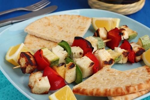 image haloumi kebabs