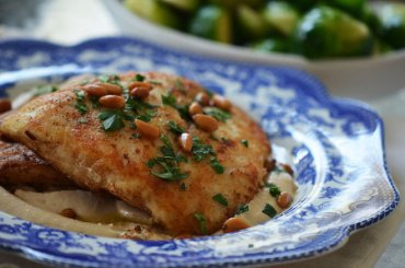 Baked Fish With Tahini Recipe