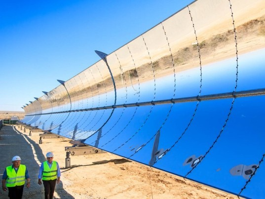 Israeli solar power plant to generate electricity day and night