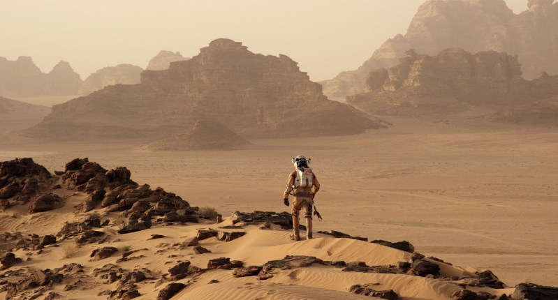 The Martian movie started as a book – here's the review